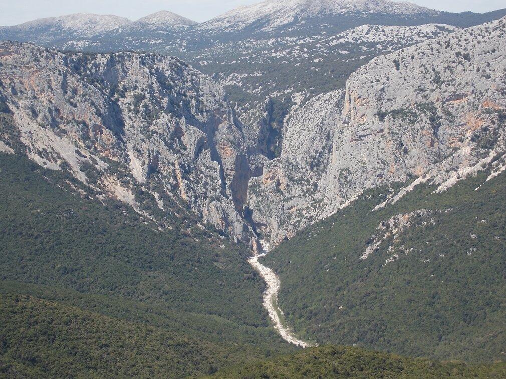 Itinerary in Sardinia