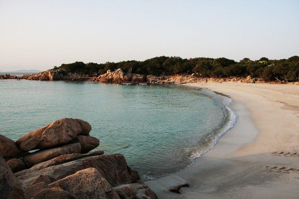 Capriccioli beach Sardinia