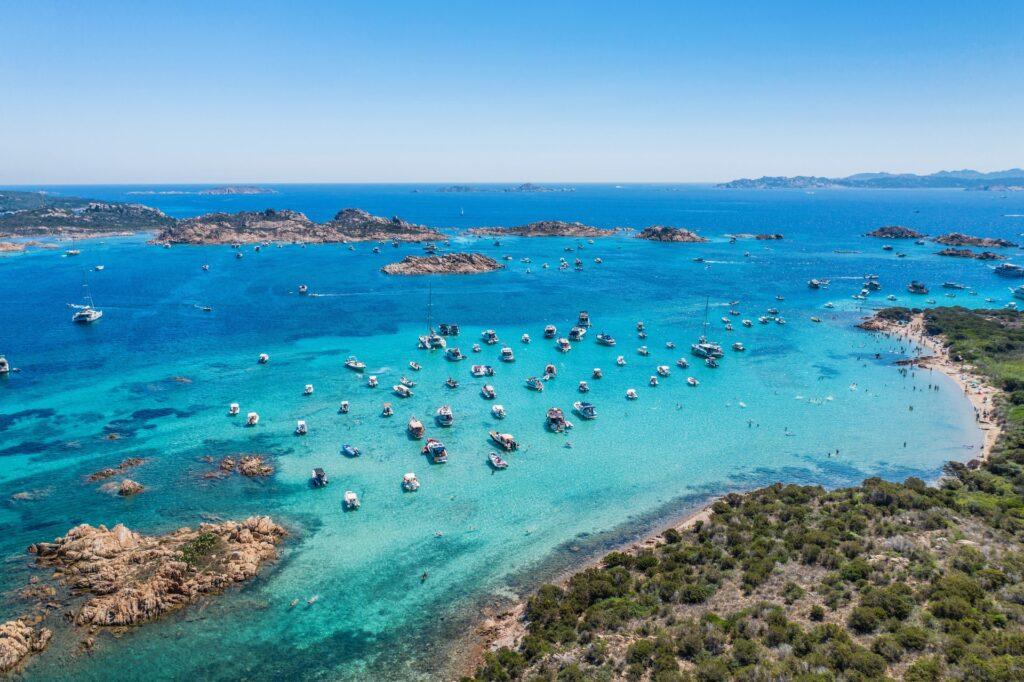 La Maddalena Islands Sardinia