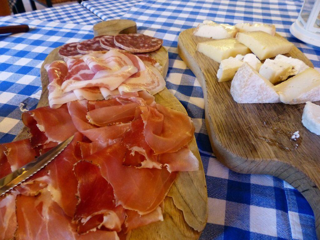 Cured meat sardinia