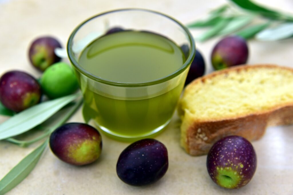 Olive oil Sardinia diet